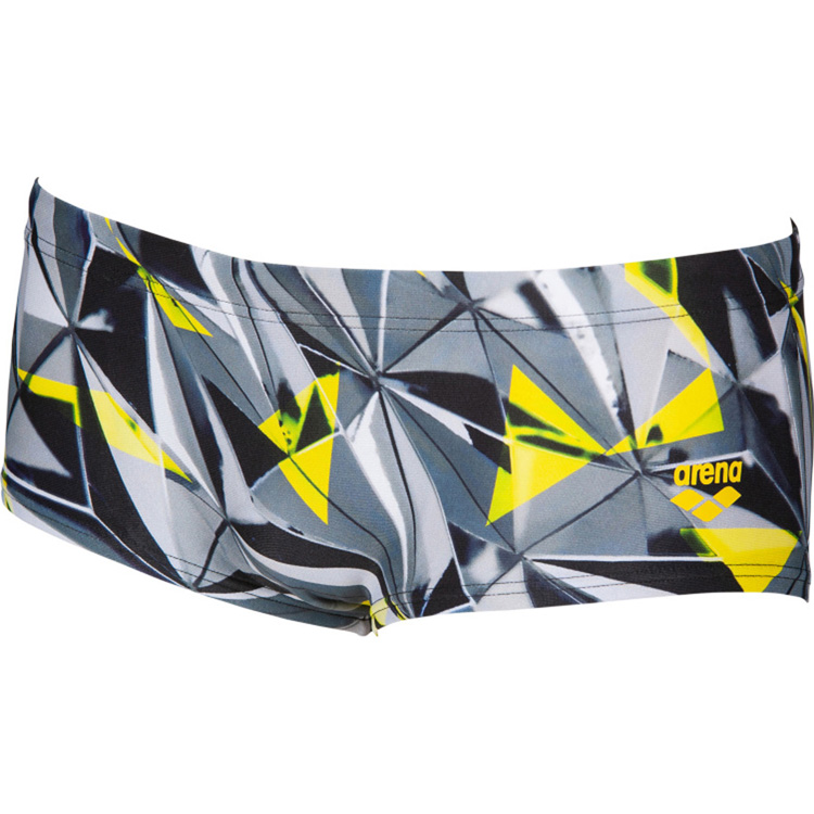 One 3D Shattered Low Waist Shorts