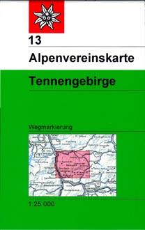 13 Tennengebirge 1:25.000