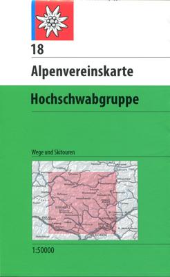 18 Hochschwabgruppe Wege + Ski