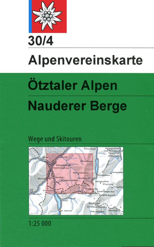 30/4 Ötzlaler Alpen Nauder