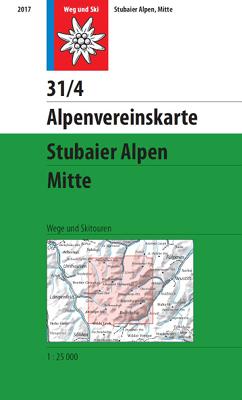 31/4 Stubaier Alpen Mitte
