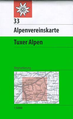 33 Tuxer Alpen