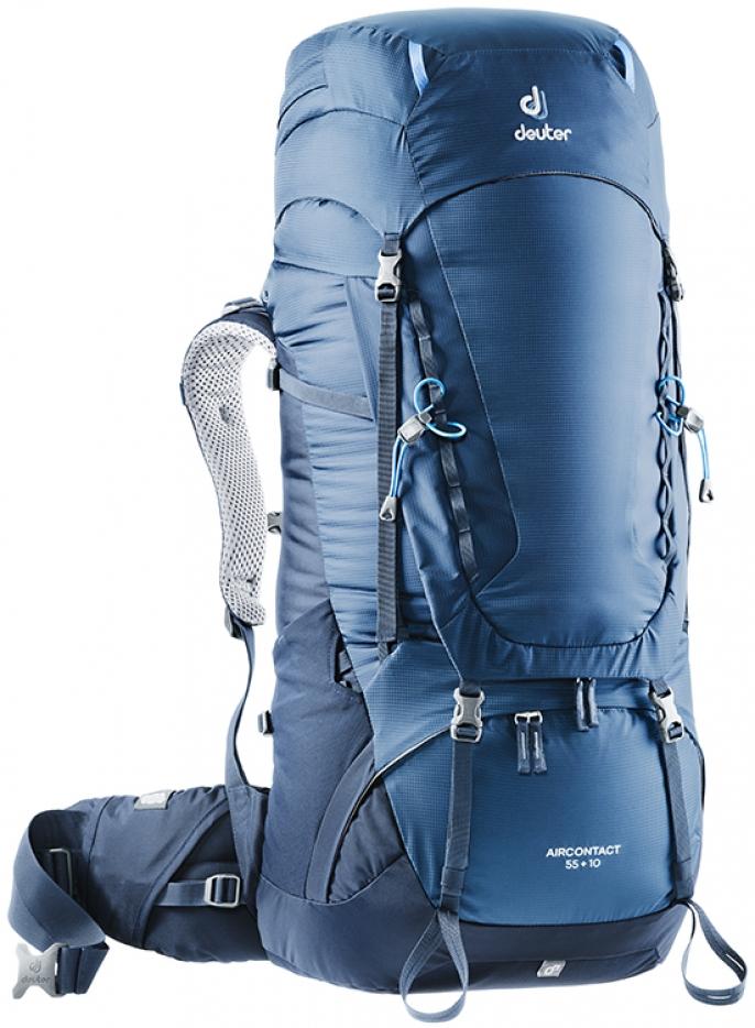 AIRCONTACT 55 + 10 Liter Rucksack