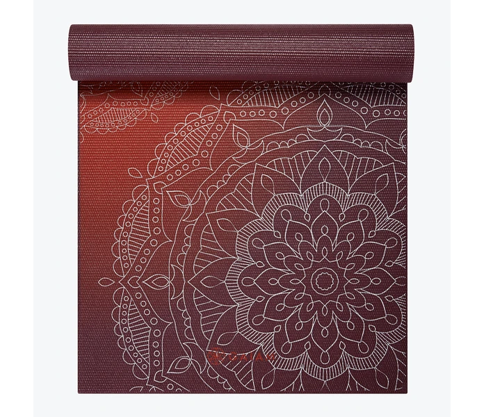 PREMIUM METALLIC SUNSET Yogamatte 6mm