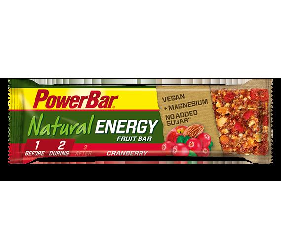 Natural Energy Fruit &Nut à 40g, Cranberry