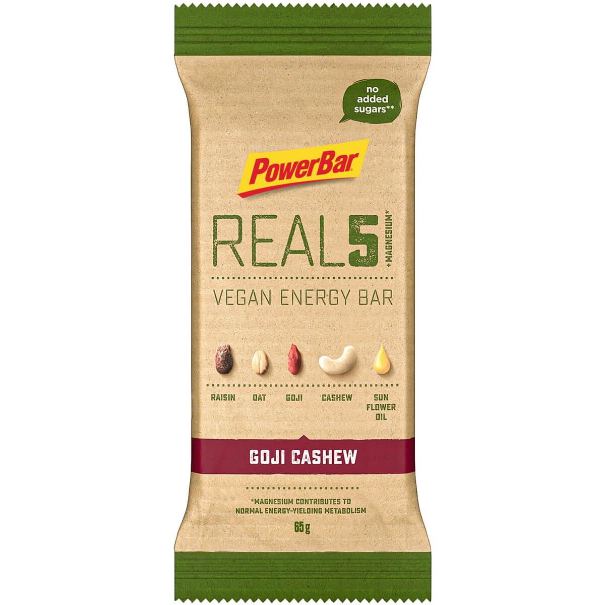 REAL5 + Magnesium Goji Cashew 65g