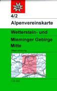 4/2  Wetterstein-Mieminger Gebirge West