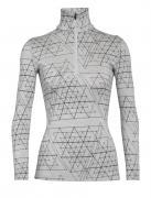 Merino 250 Vertex Long Sleeve Half Zip Thermal Top Ice Structure Damen