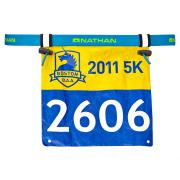 Race Number Belt 2.0 Atomic Blue
