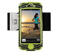 Sonic Boom I-Phone 5 Black-Lime