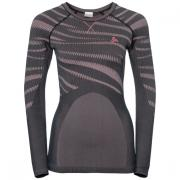 SUW TOP Crew neck l/s PERFORMA odyssey gray - mesa rose
