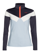 IRENE 1/4 zip top Space Blue