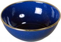 Emaille Schüssel blau 15cm