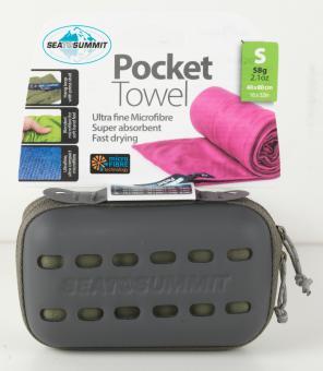 Pocket Towel Small 40cm x 80cm grün