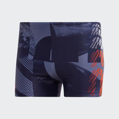 Graphic Boxer-Badehose