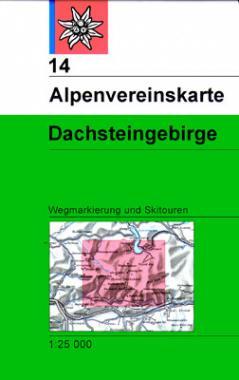 14 Dachsteingebirge Wege + Ski