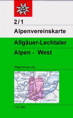 2/1 Allgäuer-Lechtaler Alpen West