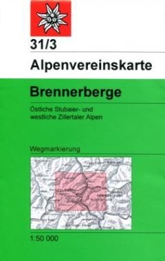 31/3 Stubaier Alpen Brennerberge