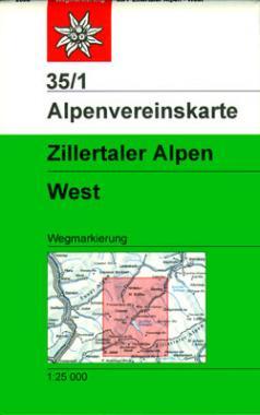 35/1 Zillertaler Alpen West