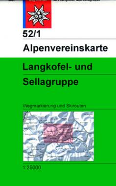 52/1 Langkofel- und Sellagruppe