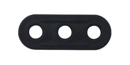 Zeltleinenspanner 38x13x2,5mm 10er Pack